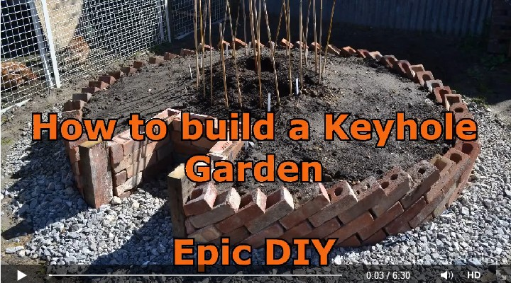 DIY Keyhole Garden by The Green Thumb