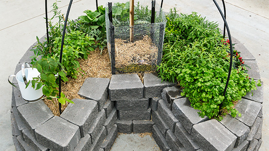Garden Design With Keyhole Garden Ideas To Make Your Own Keyhole Bed The  Self With Fire