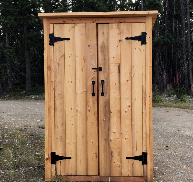 Convert Outdoor Shed or Closet into Smokehouse