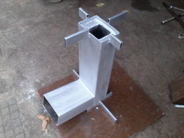 12 rocket stove plans to cook food or heat small spaces for Portable rocket stove plans
