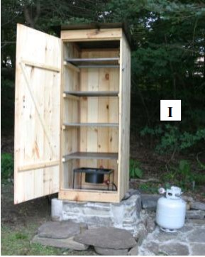 Turkey Burner Smokehouse Plan