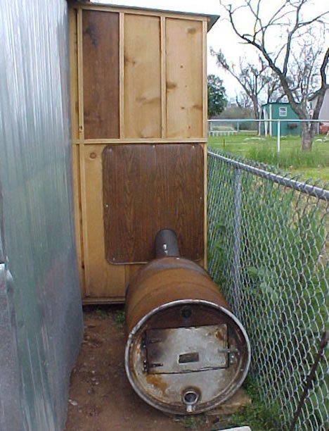 Use Recycled Lumber And Steel Drum To Build This Smokehouse