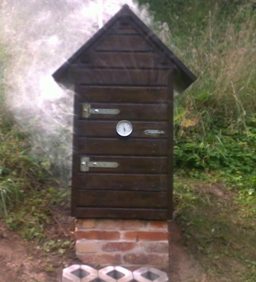 25 smokehouse plans for better flavoring cooking and for Time to build a house