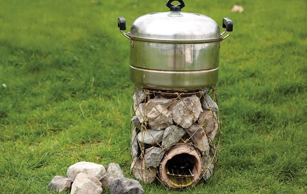 12 DIY Rocket Stove Plans to Cook Food or Heat Small Spaces