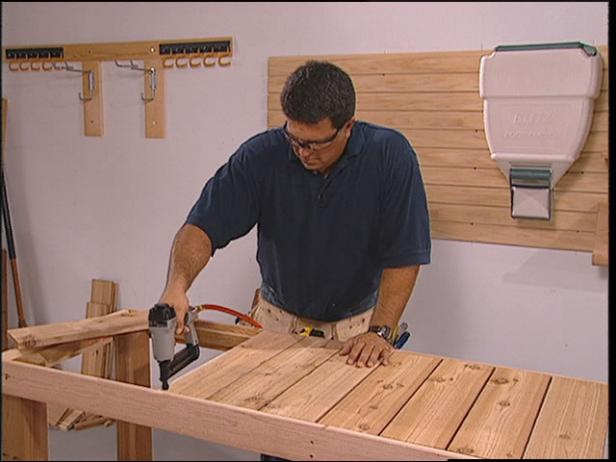 Custom Potting Bench Plan