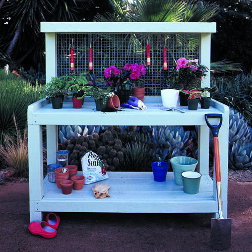 Amazing Elegant Garden Workbench