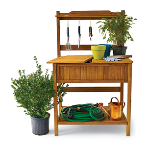 ... Garden Work Bench By 16 Potting Bench Plans To Make Gardening Work Easy  The Self ...