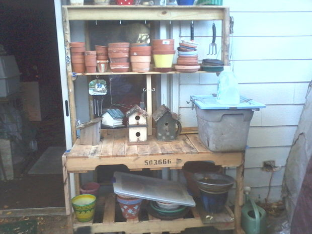 Pallet Potting Workstation