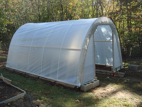 Build 165 Square ft Hoop House Just Under 50$
