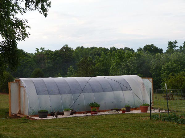 Try This Winter Proof Hoop House(300 sq.ft)Under 300$