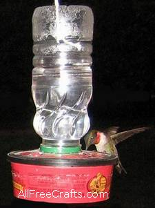 cheap and easy hummingbird feeder