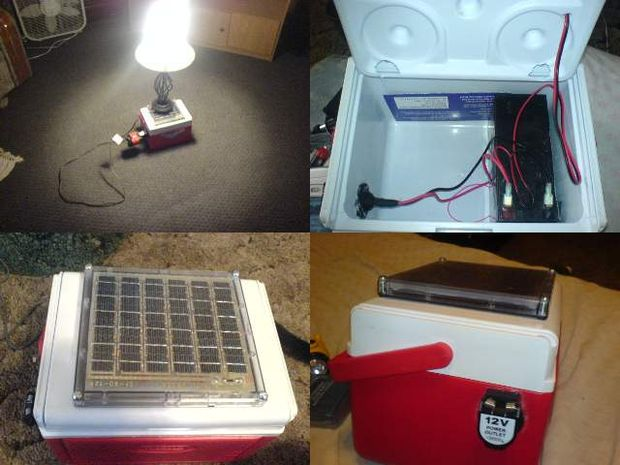 Mini Homemade Solar Generator
