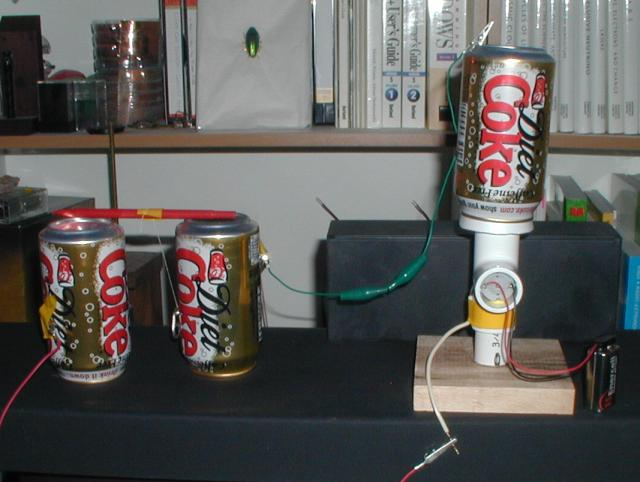 10 homemade generators for running small appliances and for Make your own solar panels with soda cans