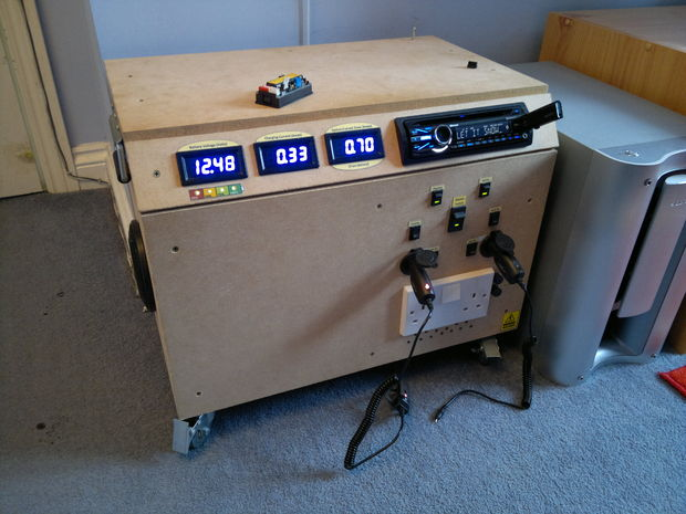 Portable DIY Solar Power Generator