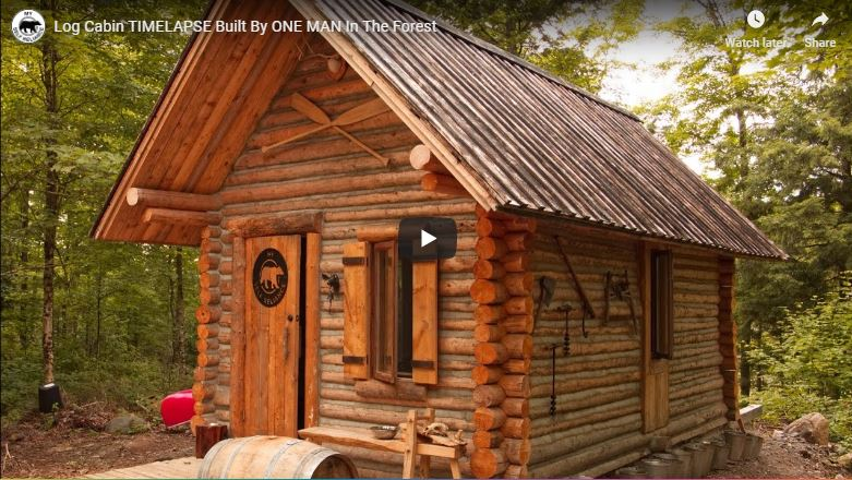 23 DIY Log Cabins-Build For a Rustic Lifestyle by Hand – The Self