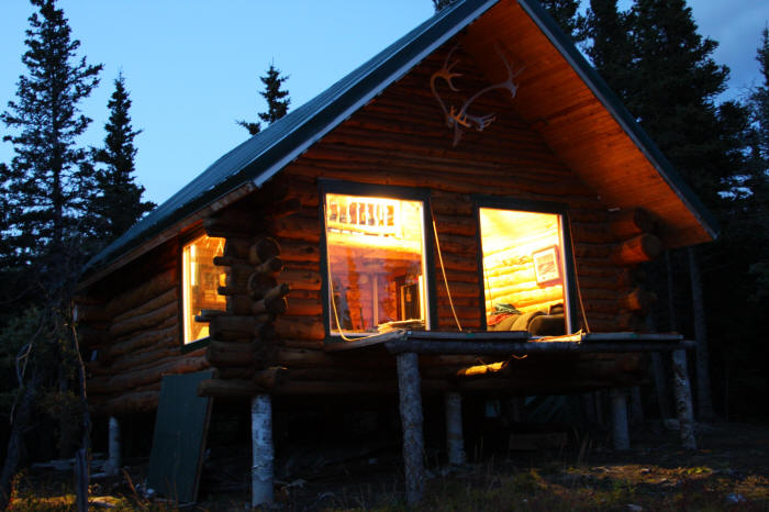 plans for log home living Alaska style