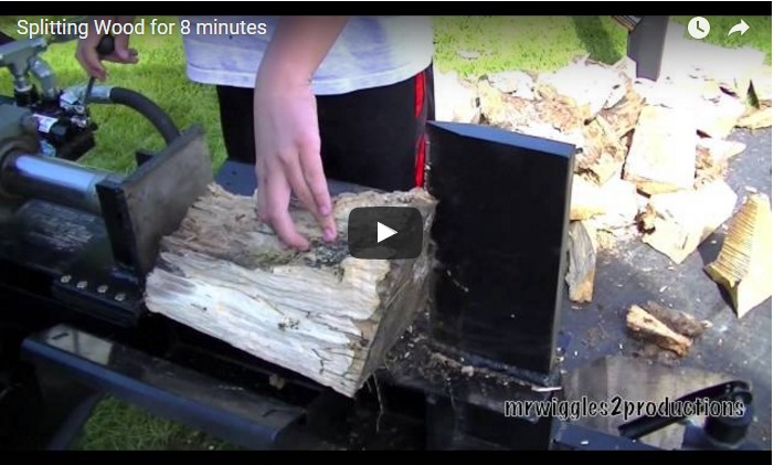 Two-Way Homemade Log Splitter