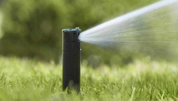 DIY water sprinkler system
