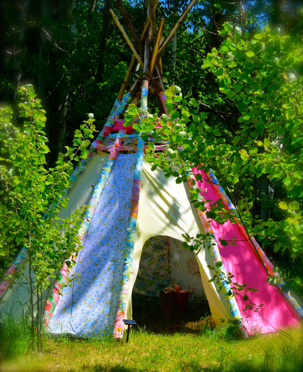 Fabric Teepee Playhouse