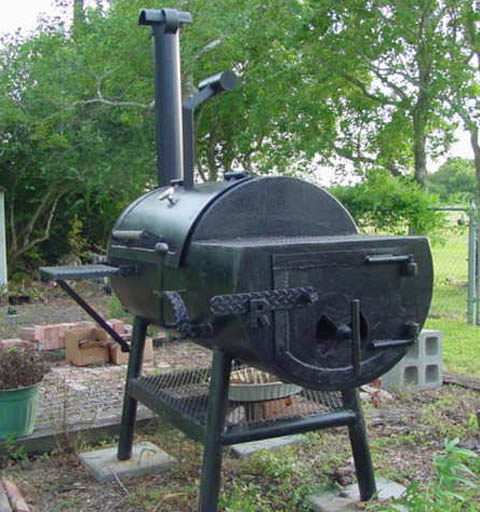 15 homemade smokers to add smoked flavor to meat or fish for Bbq grill designs and plans