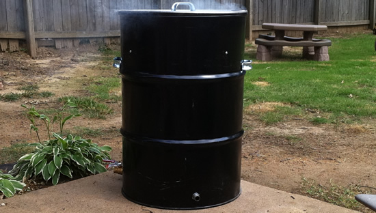 Ugly Drum Smoker
