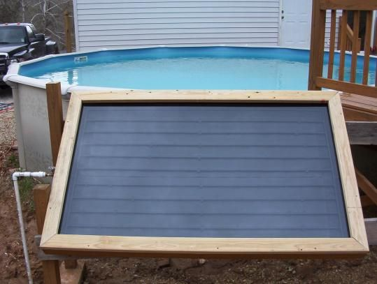 10 diy solar pool heaters an efficient way to heat your - Solar hot water heater for swimming pool ...