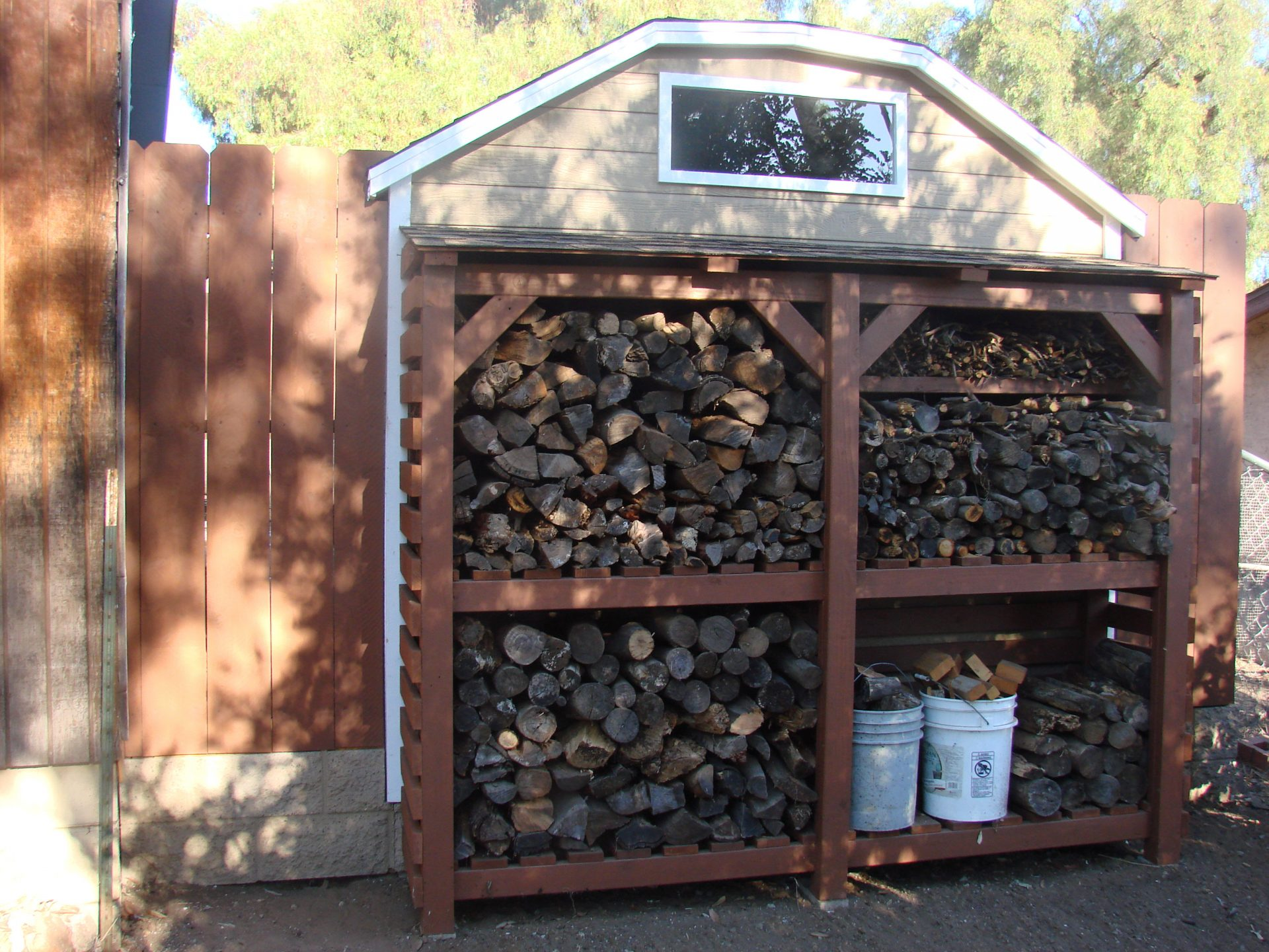 Barn Style Pallet Shed