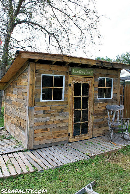 Garden Shed With Natural Light