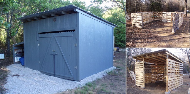 10 free plans to build a shed from recycle pallet the for Shed project
