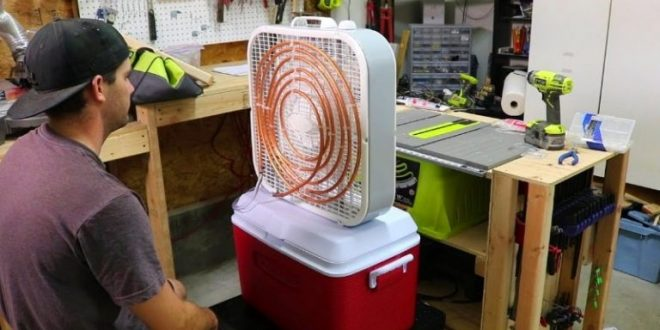 23 Diy Air Conditioner An Easy Way To Beat The Heat The