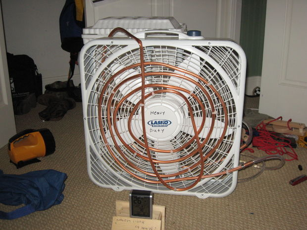 Box Fan Cooling and Heating