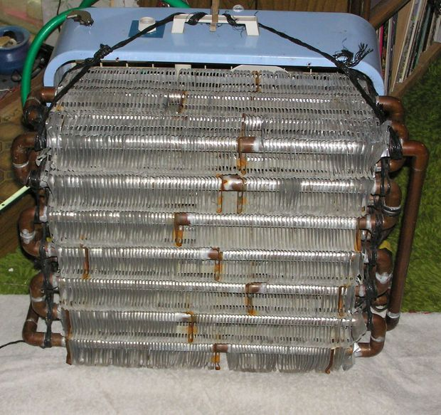 DIY design for an air conditioning unit