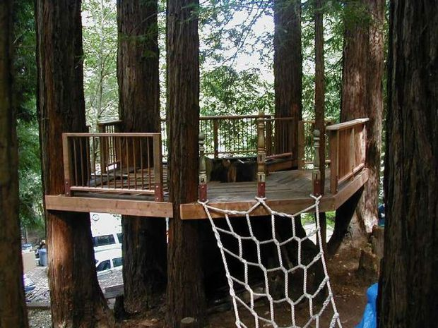 15 Lovely Diy Treehouses Make Your Kids Dream Come True The Self Sufficient Living