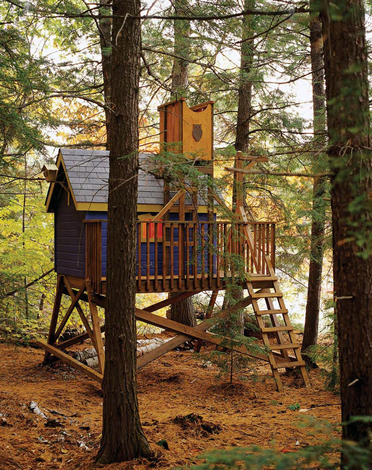 Wooden Treehouse Plans