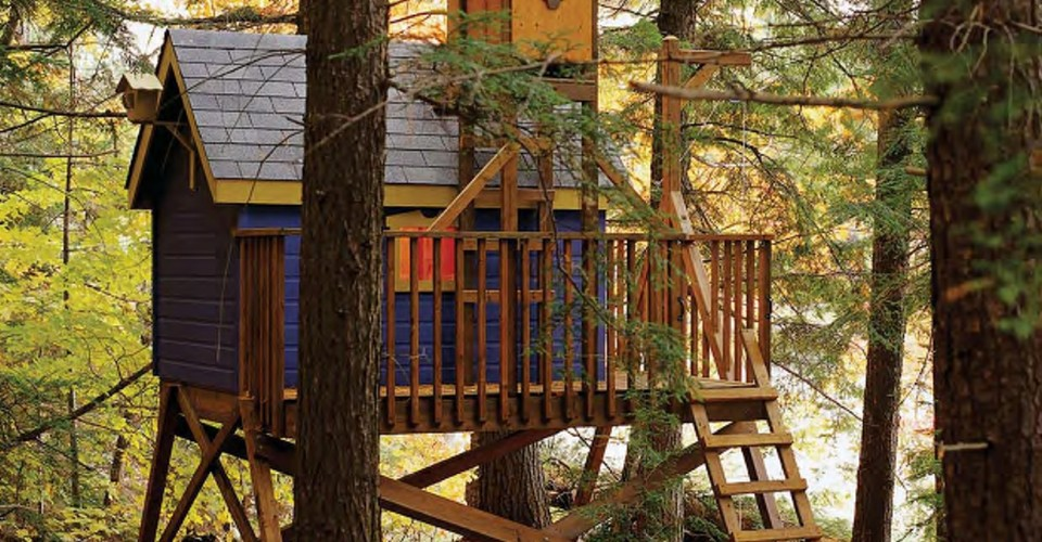 Do It Yourself Home Design: 15 Lovely DIY Treehouses-Make Your Kids Dream Come True