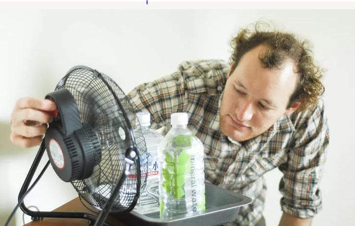 sufficient homemade air conditioner You can make your own air conditioning using a basic box fan that you can buy at just about any store the easy diy way to turn a fan into an air conditioner.