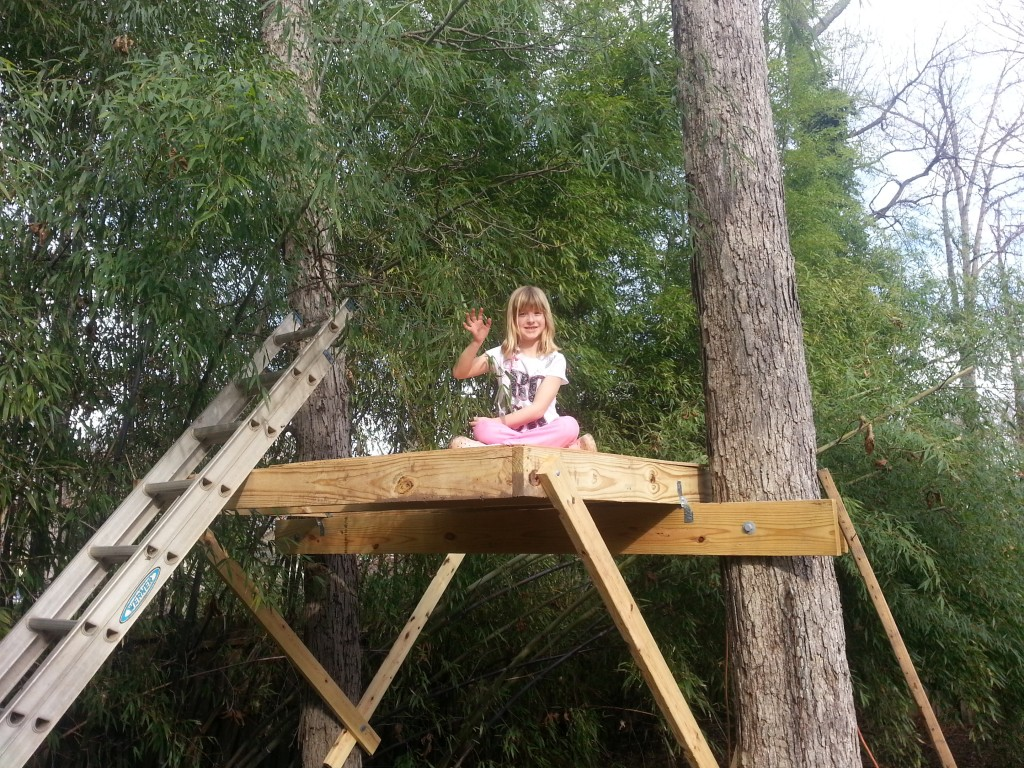 safe and sturdy treehouse constructions