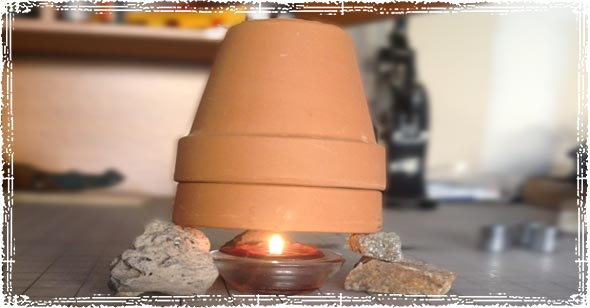 Emergency Candle Heater