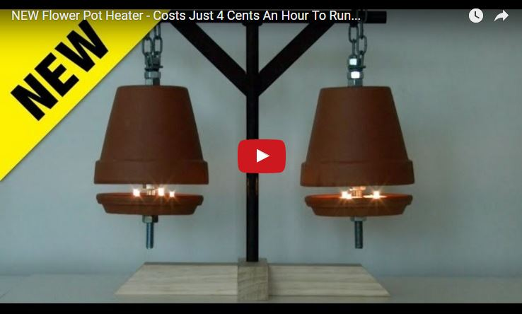 Hanging DIY Heater