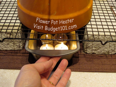 Tea Light Heater