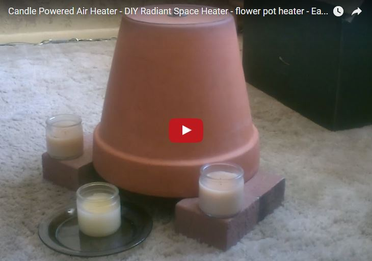 Terra Cotta Pot Heater