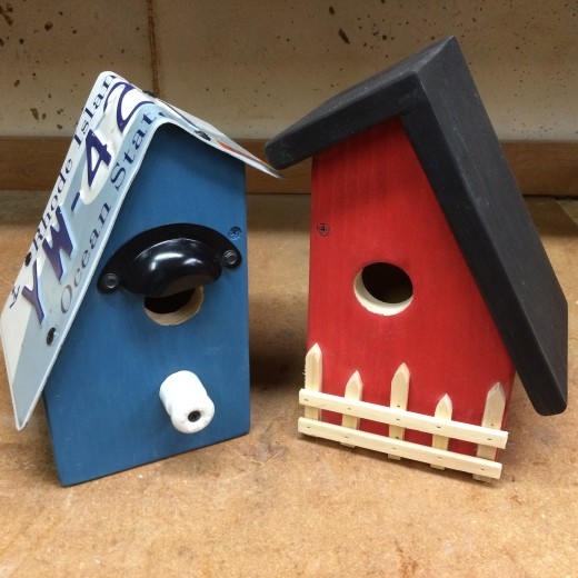 Chalet Cottage Birdhouse