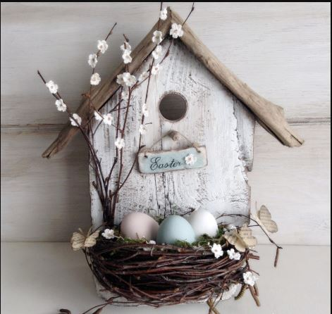 Easter Bird House plan