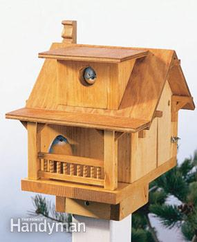 Inexpensive Wooden Birdhouse