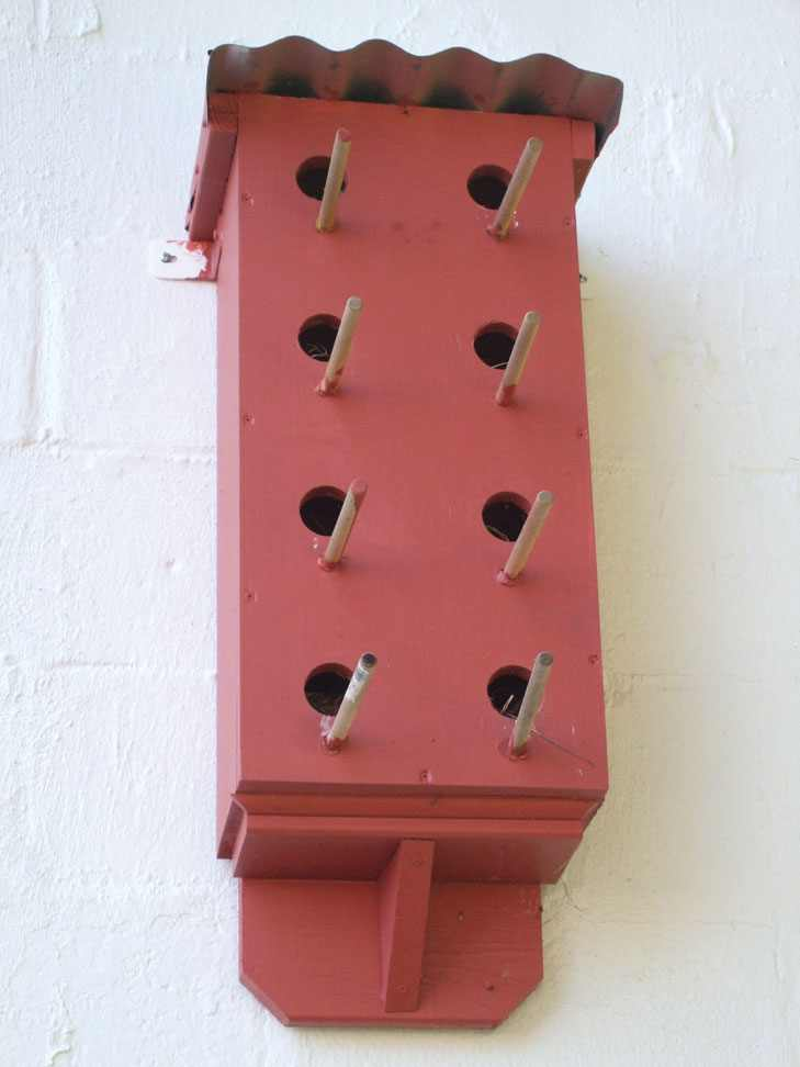 Large Multiple Holes Birdhouse
