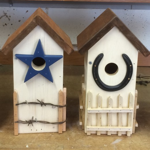Rustic Decorative Birdhouse