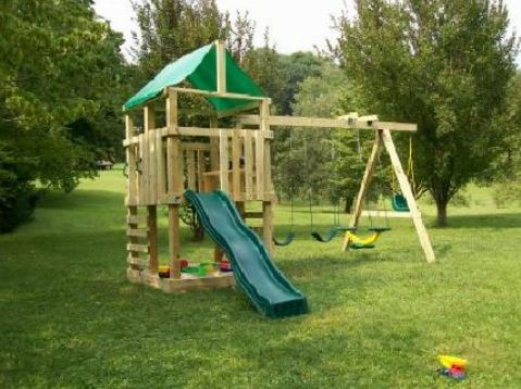 build a DIY swing set