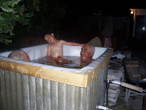 Folk Art Hot Tub