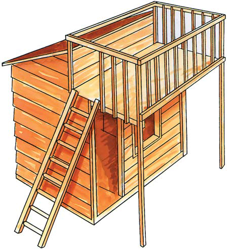 Two Story Cubbyhouse