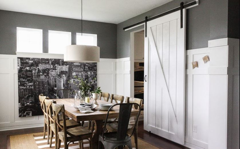 how to build an attractive barn door